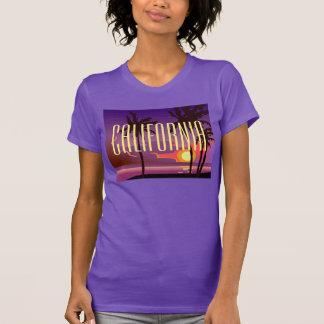 T-shirt de palmiers de la Californie