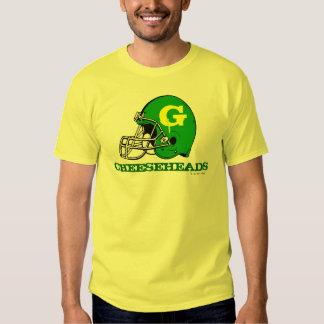 T-shirt de passionés du football de NFL de Green