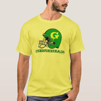 T-shirt de passionés du football de NFL de Green