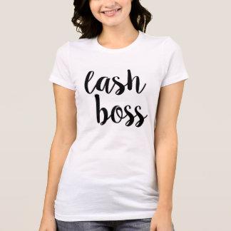 T-shirt de patron de mèche