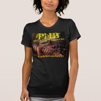 T-shirt de pays proscrit par PHB
