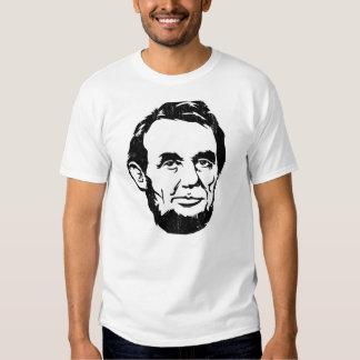 T-shirt de portrait d'Abraham Lincoln