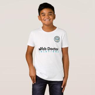 T-shirt de reproduction du football d'enfants