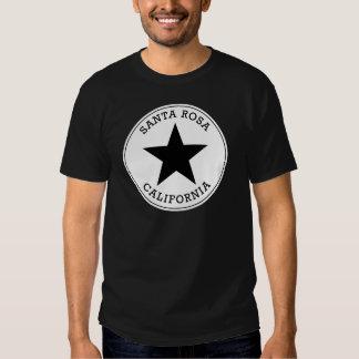 T-shirt de Santa Rosa la Californie