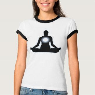 T-shirt de sonnerie de conception de méditation de