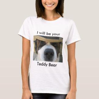 T-shirt de St Bernard d'ours de nounours