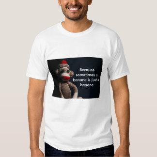T-shirt de thérapie de Monkee de chaussette