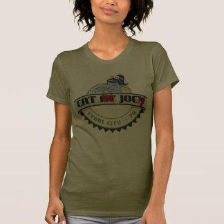 T-shirt de wagon-restaurant de zombi