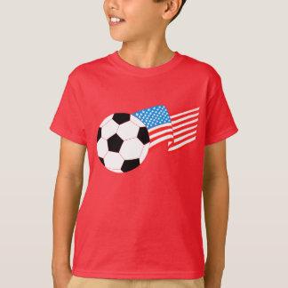 T-shirt d'enfants : Le football