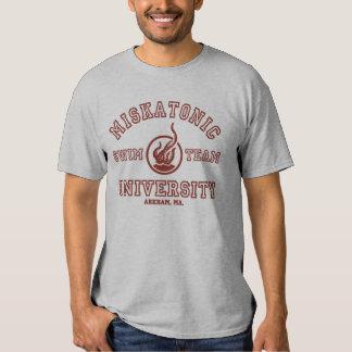 T-shirt d'équipe de natation de Miskatonic