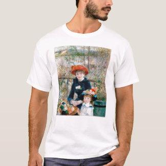 T-shirt Deux soeurs sur la terrasse par Renoir. Copie de