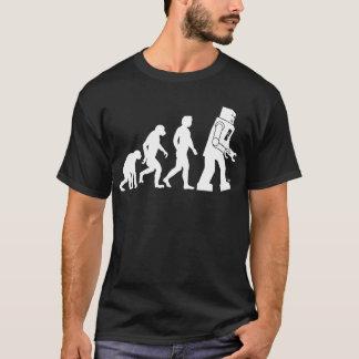 T-shirt d'évolution de robot