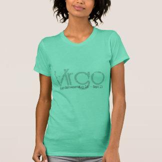 T-shirt d'horoscope de Vierge en vert