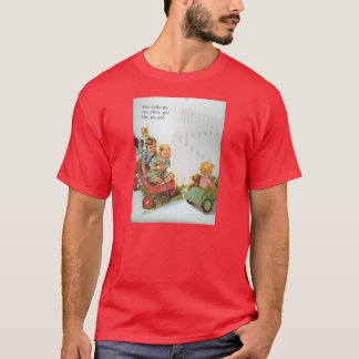 T-Shirt DICK AND JANE 1950's School Reader