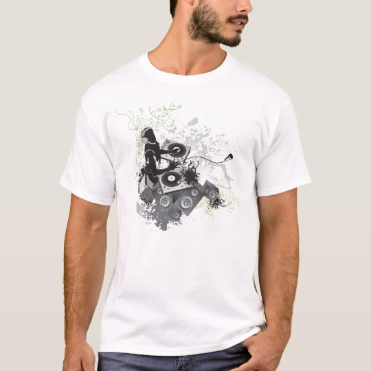 T-Shirt - DJ Spinning Records