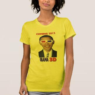 T-shirt d'Obama 3D - venant 2012