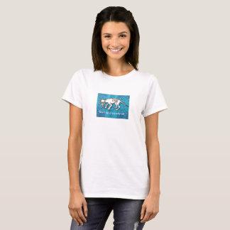 "T-shirt, ""Don't be a scaredy cat."" T-Shirt"