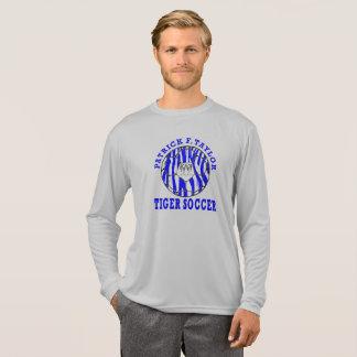 T-shirt Douille de ballon de football de visage de tigre