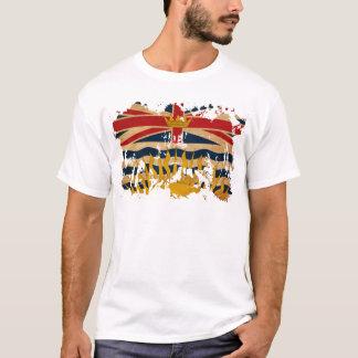 T-shirt Drapeau de Colombie-Britannique