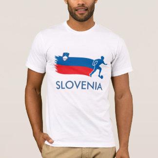 T-shirt Drapeau du football de la Slovénie