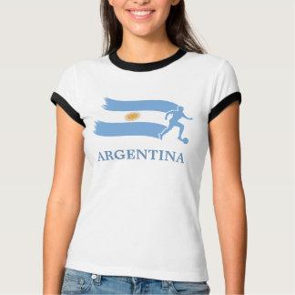 T-shirt Drapeau du football de l'Argentine