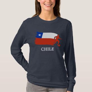 T-shirt Drapeau du football du Chili