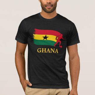 T-shirt Drapeau du football du Ghana