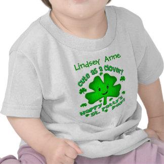 T-shirt du jour de St Patrick d'Irlandais/combinai