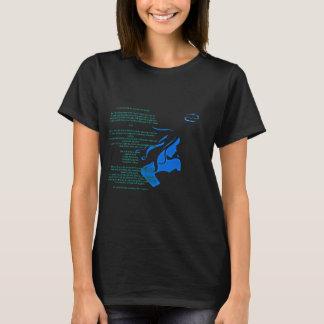 T-shirt Elle est pièce en t de Cancer