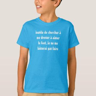 t-shirt enfant anti-foot