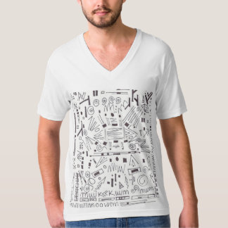 T-shirt exotic artwork