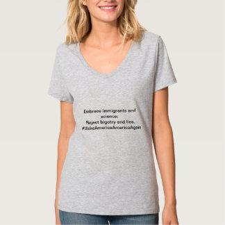 T-shirt Faites l'Amérique Amérique encore