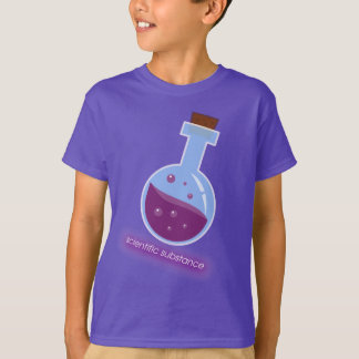 T-shirt fashion for child scientific substance