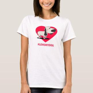 T-shirt Fem My Dog