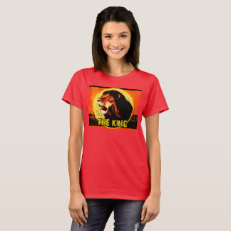T-shirt Fem The King