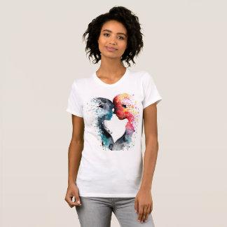 T-shirt Feminine Joust, White