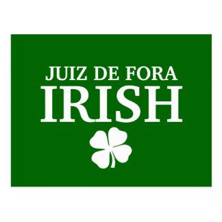 T-shirt fier de ville de Custom Juiz de Fora Irish Carte Postale