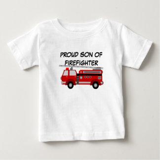 T shirt firefighter for son