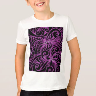 T-Shirt Floral abstract background