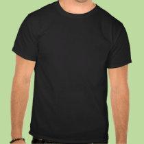"""T-shirt foncé arabe de """"paix"""" t-shirts"""