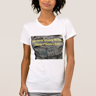 T-shirt for airforce moms.