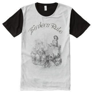 T-Shirt for Birders - The Parrot Judge