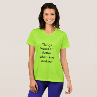 T-shirt for casual and sports wear with personalis