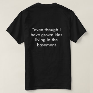 T-shirt for empty nesters who have been re-nested