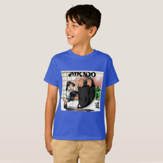 T-shirt for kids aikido