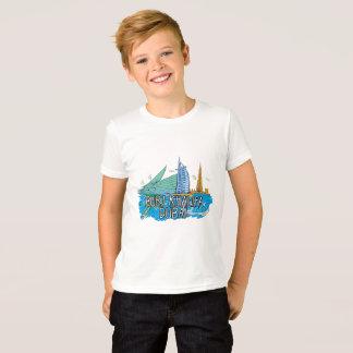 T-Shirt for Kids with Dubai Artwork