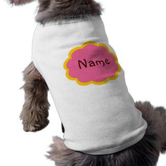 T-shirt frais de Cutom de chien Manteau Pour Animal Domestique