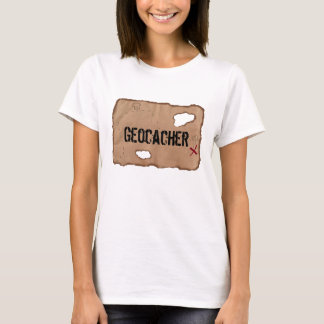 T-Shirt: Geocacher (Treasure Map) T-Shirt