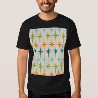 T-shirt géométrique vintage de Starbursts