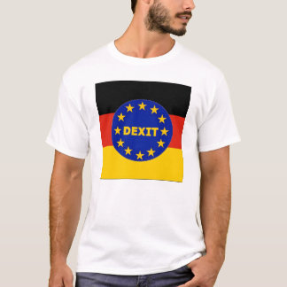 T-Shirt German Flag EU Dexit